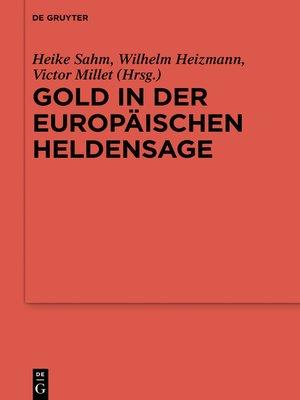 cover image of Gold in der europäischen Heldensage