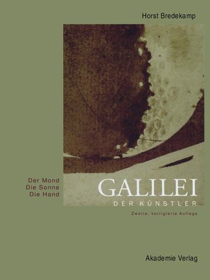 cover image of Galilei der Künstler