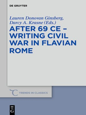 cover image of After 69 CE--Writing Civil War in Flavian Rome