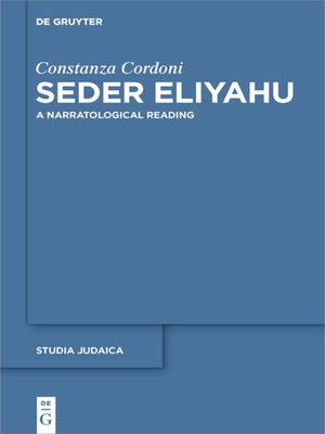 cover image of Seder Eliyahu