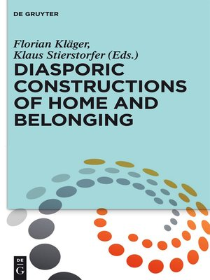 cover image of Diasporic Constructions of Home and Belonging
