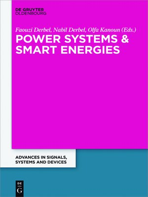 cover image of Power Systems and Smart Energies