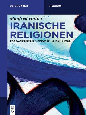 cover image of Iranische Religionen