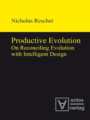 cover image of Productive Evolution