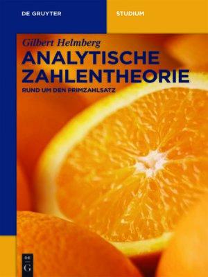cover image of Analytische Zahlentheorie