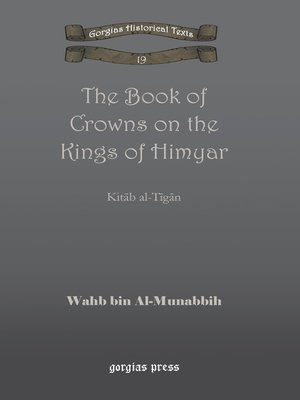 cover image of The Book of Crowns on the Kings of Himyar