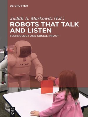 cover image of Robots that Talk and Listen