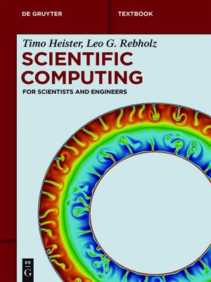 cover image of Scientific Computing