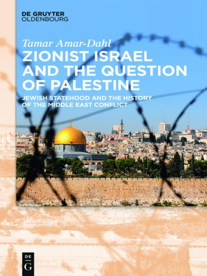cover image of Zionist Israel and the Question of Palestine