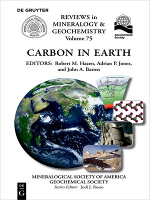 cover image of Carbon in Earth