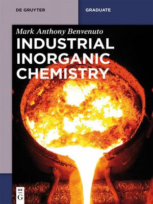 cover image of Industrial Inorganic Chemistry