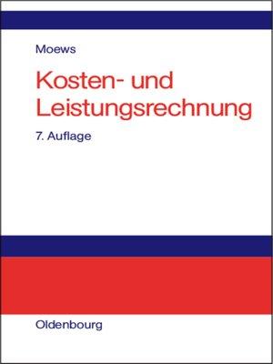 cover image of Kosten- und Leistungsrechnung