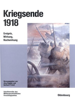 cover image of Kriegsende 1918