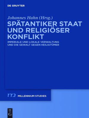 cover image of Spätantiker Staat und religiöser Konflikt
