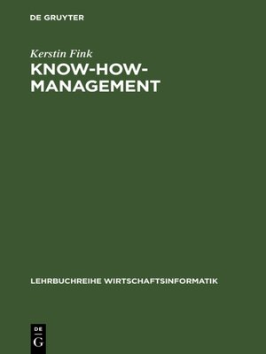 cover image of Know-how-Management