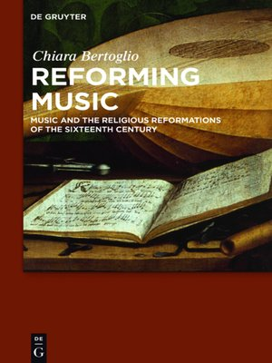 cover image of Reforming Music