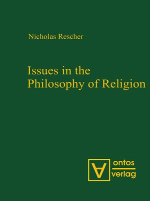 cover image of Issues in the Philosophy of Religion