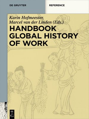 cover image of Handbook Global History of Work