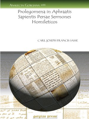 cover image of Prolegomena in Aphraatis Sapientis Persae Sermones Homileticos