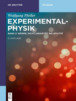 cover image of Wärme, Nichtlinearität, Relativität