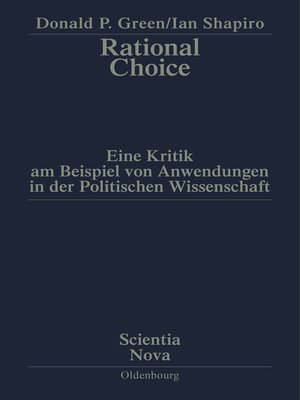 cover image of Rational Choice