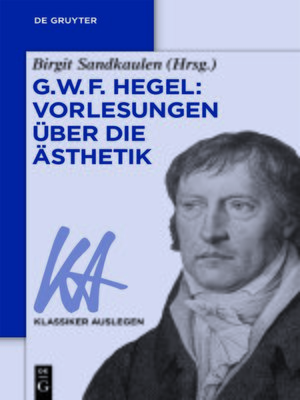 cover image of G. W. F. Hegel
