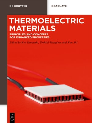 cover image of Thermoelectric Materials