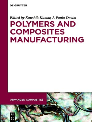 cover image of Polymers and Composites Manufacturing