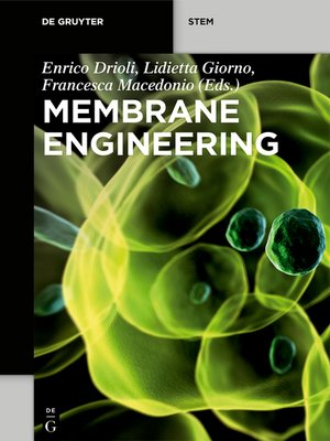 cover image of Membrane Engineering