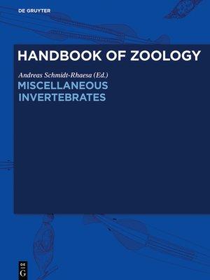 cover image of Miscellaneous Invertebrates