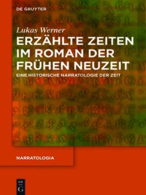 cover image of Erzählte Zeiten im Roman der Frühen Neuzeit