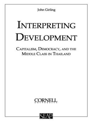 cover image of Interpreting Development