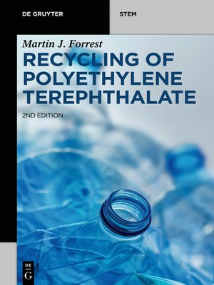 cover image of Recycling of Polyethylene Terephthalate