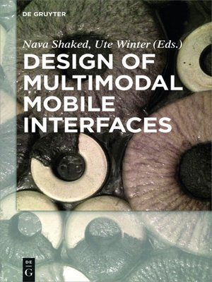 cover image of Design of Multimodal Mobile Interfaces