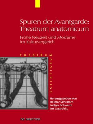 cover image of Spuren der Avantgarde