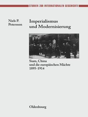 cover image of Imperialismus und Modernisierung