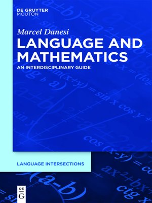 cover image of Language and Mathematics