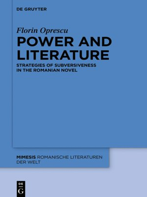 cover image of Power and Literature
