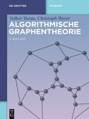 cover image of Algorithmische Graphentheorie