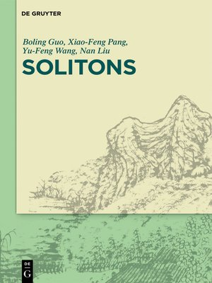 cover image of Solitons