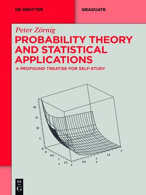 cover image of Probability Theory and Statistical Applications