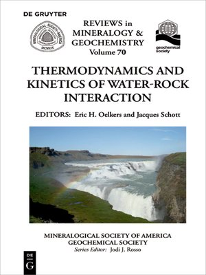 cover image of Thermodynamics and Kinetics of Water-Rock Interaction