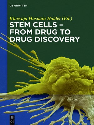 cover image of Stem Cells--From Drug to Drug Discovery