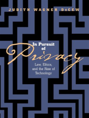 cover image of In Pursuit of Privacy