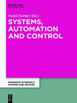 cover image of Systems, Automation and Control