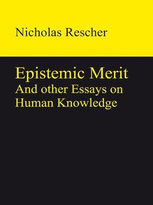 cover image of Epistemic Merit