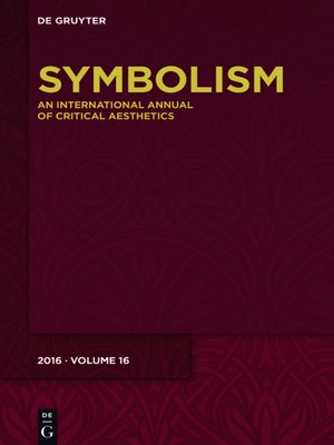 cover image of Symbolism 16