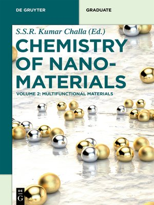 cover image of Multifunctional Materials