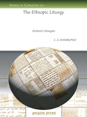 cover image of The Ethiopic Liturgy