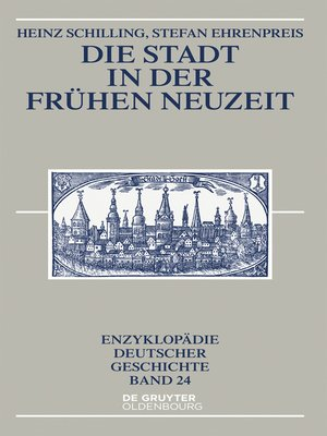 cover image of Die Stadt in der Frühen Neuzeit